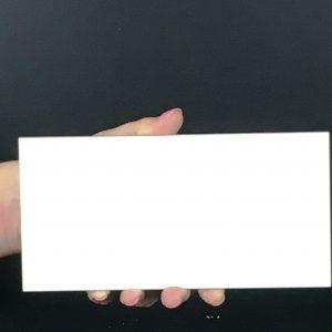 Bevelled Gloss White Image