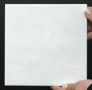 Gloss White Hammered Image